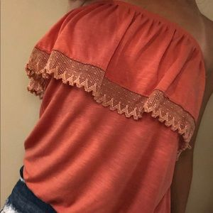 Free People Strapless Top